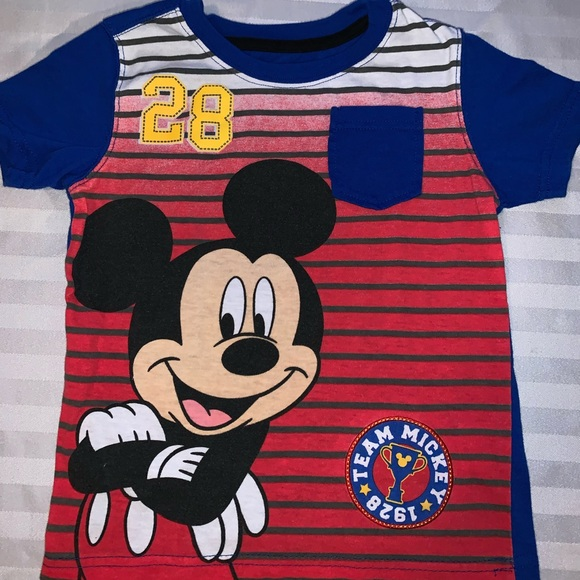 Disney Mickey Mouse or Cars Infant Boys 3 Pack Bodysuits Sizes 6M or 9M NWT